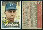 (28571) 1952 Topps 169 Howie Judson White Back White Sox-VGX