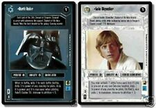 Star Wars CCG Reflections I (1) Complete Foil Set Luke Skywalker Darth Vader URF