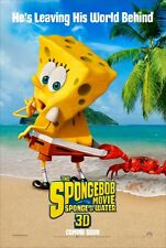 Spongebob 2 Sponge Out of Water - original DS movie poster - D/S 27x40 Adv