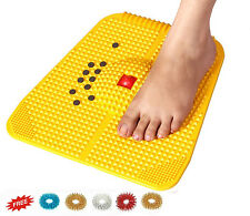 High Quality Acupressure Magnetic Pyramidal Reflexology Therapy Power Mat +Rings