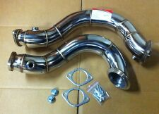 BMW 135i 335i N54 Downpipe Y-branch pipe Sport exhaust no Catalytic converter