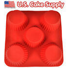 SILICONE CUPCAKE BAKING MOLD Cup Cake Decorating Bake Pan Muffin Pastery Dessert