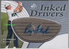 2012 SP GAME USED GOLF INKED DRIVER AUTO: RAYMOND FLOYD - AUTOGRAPH HALL OF FAME