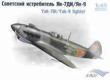 Soviet YaK-7DI/YaK-9 WW II Fighter 1/48 Scale  (FREE SHIPPING) 48010