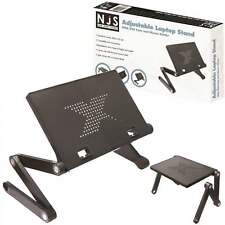 NJS Adjustable Laptop / Tablet Stand With USB Fans Ideal For DJ Office