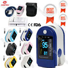 Contec Finger Tip Pulse Oximeter, Blood Oxygen, Spo2 Probe, Heart Rate Monitor