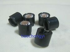 10pc 14.5mm Black 15°Degree LED LENS Reflector Collimator for 1W 3W 5W Star LED