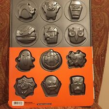 Variety~12 Halloween Cookie Pan Frankenstein Mummy Spider Dracula Ghost Pumpkin