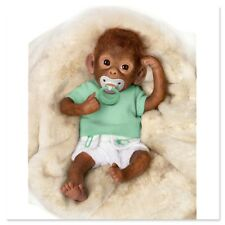 Ashton Drake - Lolo So Truly Real Baby Monkey Doll by Linda Murray
