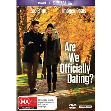 ARE WE OFFICALLY DATING-Zac Efron-Region 4-New AND Sealed