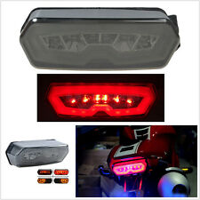 Motorcycle LED Brake Tail Light Integrated Turn Signal For Honda CBR650F