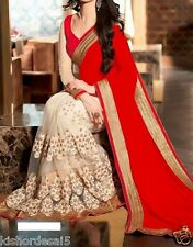 saree exclusive Women's Tamanna Bollywood Inspired Georgette Saree