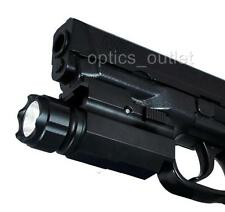350 Lumen Pistol LED Flashlight for Smith Wesson SW Springfield Beretta Ruger HK