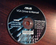 CD ASUS VGA Driver and Manual V998 SmartDoctor GamerOSD Net Framework