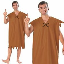 The Flintstones Barney Rubble Flintstone Men Halloween Fancy Dress Adult Costume