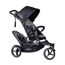 Phil & Teds 2016 Dot V3 Stroller & Double Kit Graphite Brand New!! Open Box!!