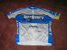 DISCOVERY CHANNEL TREK SUBARU NIKE ITALIAN CYCLING JERSEY [XL]