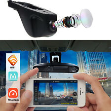 WiFi HD 1080P Hidden Car DVR Dash Cam Camera Novatek96655 Capacitor IC G-Sensor