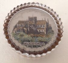 WINCHESTER CATHEDRAL ENGLISH CRYSTAL HAND MADE FULL LEAD HAND CUT