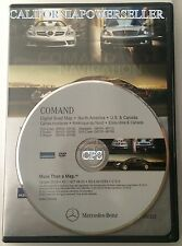 2005 06 07 MERCEDES SLK55 AMG SLK280 SLK350 NAVIGATION MAP DVD VERSION 2013 12.0