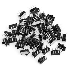 50Pcs Slide Switch 6 Pin DPDT PCB Panel Mount Mini Micro Toggle Switch
