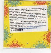 (FL316) Carpool Conversation, African Queen in a Brazilian Dream - 2014 DJ CD