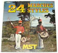 Philippines MST 24 Marches Styles OPM SEALED LP Record