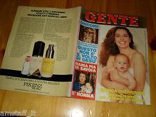 GENTE=1988/43=MONICA GUERRITORE=ALZATE BRIANZA=ABBAGNALE=CEFALU=PATRICIA NEAL