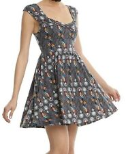 NIGHTMARE BEFORE CHRISTMAS GOTHIC STAINED GLASS DRESS SALLY JACK SKELLINGTON