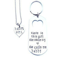 Daddy's Girl Key-Ring & Necklace Set