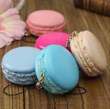 Kawaii Soft Dessert Macaron Squishy Cute Key Cellphone Pendant Charm