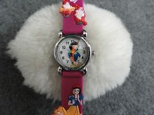 "Girls or Ladies ""Snow White"" Quartz Watch with a Pretty Band"