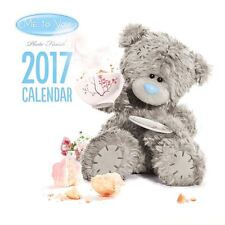 Me to You Photo Finish Square Calendar 2017 NEW - Tatty Teddy Bear