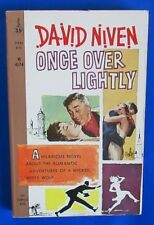 1960 ONCE OVER LIGHTLY by David Niven Paperback Perma 1st M4174 VG+