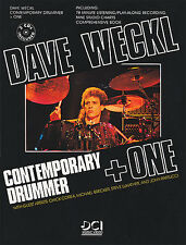 Dave Weckl Contemporary Drummer Plus One Learn Play Drums Music Book CD