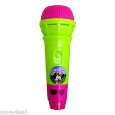 MINNIE MOUSE BOW-TIQUE ECHO MIC MICROPHONE MUSICAL TOY CHILDRENS KIDS JUNIOR