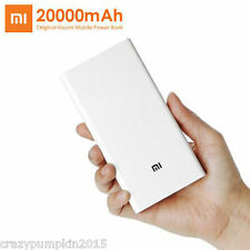 100% ORIGINAL Xiaomi Mi 20000 mAh / 20000mAh  Dual USB Port Universal Power Bank