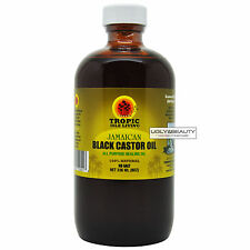 "Tropic Isle Living Jamaican Black Castor Oil 8 Oz ""All Purpose Healing Oil"""