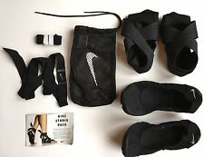Nike Studio Wrap Pack Dance Shoes Yoga Women Sz 8.5 Black EUC