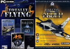 totally flying B17 Flying Fortress & Falcon 4 & allied force & European Air War