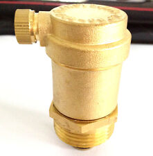 "1pc  New 1/2 "" BRASS AUTOMATIC HOT WATER AIR VENT HEATING VALVE 1/2'' Bspp"