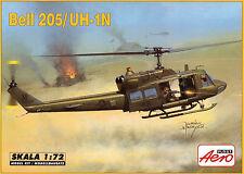 """BELL 205 (HUEY) / MW 1 N delle """"operazioni speciali"""" 1/72 aeroplast"""
