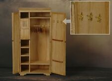 "Toy Model WWII German Scene Wooden Wardrobe 1/6 Fit for 12"" action figure"