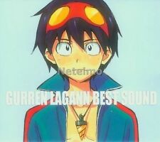 New 0873-4 Tengen Toppa Gurren Lagann Best Sound Anime Music SOUNDTRACK 2 CD