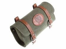 Vintage style BLB Bicycle Canvas Saddle Bag - Green