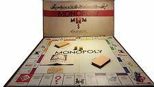 Vintage 1936 Monopoly White Box Set w/ Removable Compartment Tray Free Shipping