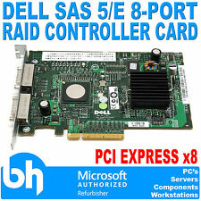 Dell SAS 5/E 8-Port RAID Controller Card SAS/SATA PCIe Host Bus Adapter 0FD467