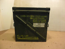 30 Cartridges 25mm Linked Ammo Box for Practice Rounds 1305-01-350-5265