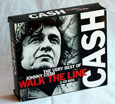 JOHNNY CASH - Walk the Line - The Very Best Of - 3CD-Box