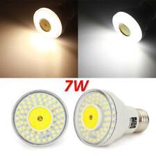 E27 7W White/Warm White Microwave Radar Body Sensor LED Spot Light Bulb 220V